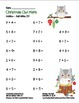 """""""Christmas Owl Math"""" Add Within 20 - Common Core - Additio"""