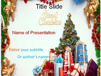 Christmas PPT Template