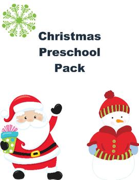 Christmas Pack for Preschoolers