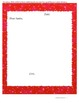 Christmas Packet:  Following Directions and Letter to Santa