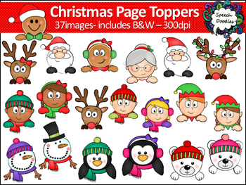 Christmas Page Toppers - 37 images - Winter Page Toppers