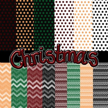 Christmas Paper Clip Art