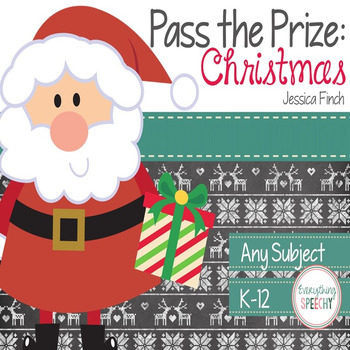 Pass the Prize Following Directions Game: Christmas