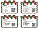 Christmas Past, Present, Future Tense Task Cards with QR S
