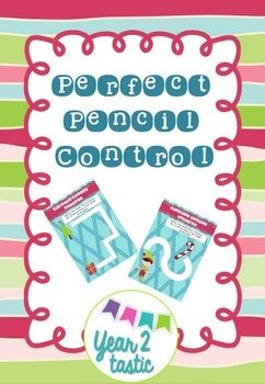 Christmas Perfect Pencil Control Paths {year2tastic}