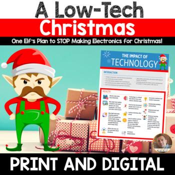 Christmas Persuasive/Opinion Writing: A Low-Tech Christmas