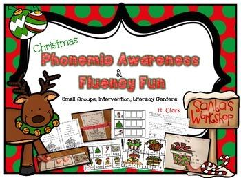 Christmas Phonemic Awareness and Fluency Fun {Guided Readi