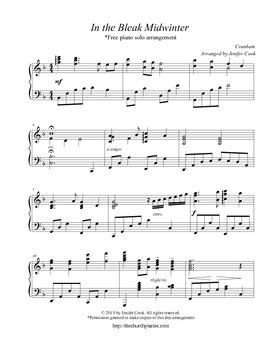 Christmas Piano Sheet Music