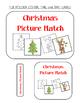 Christmas Picture Match File Folder Activity