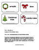 Christmas Picture Word Flash Cards