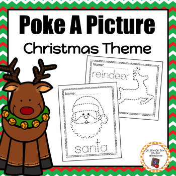Christmas Pinning: Poke A Picture