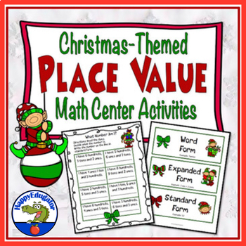 Place Value - Christmas Math Center