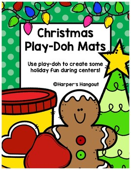 Christmas Play-Doh Mats