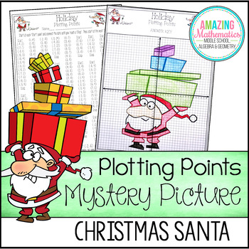 Christmas Plotting Points - Mystery Picture