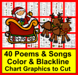 Christmas Activities: Poems, Songs and Finger Plays for Sh
