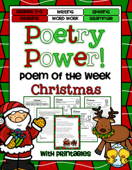 Christmas Poetry Power! Daily Literacy Practice
