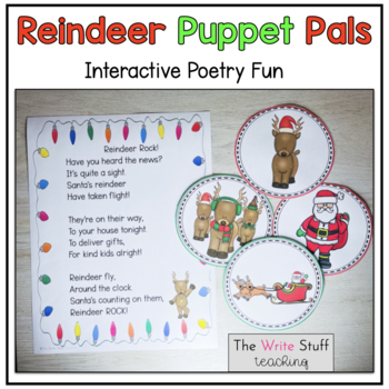 Christmas Puppet Pals {Free}