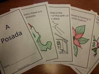Christmas Posadas coloring booklet English and Spanish Soc