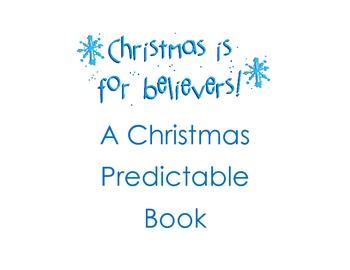 Christmas Predictable Book