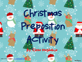 Christmas Preposition Activity