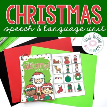 Christmas Preschool Language Unit