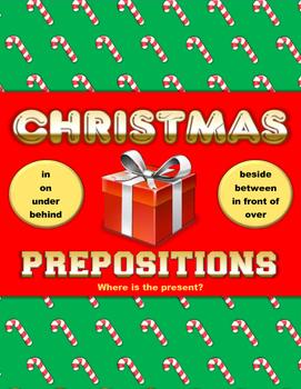 Christmas Presents Prepositions