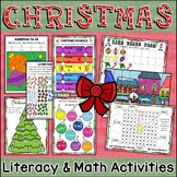 Christmas Print and Go Activities, Games and Puzzles