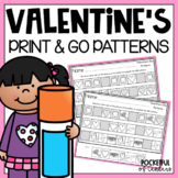 Valentine's Day Printable Patterns Packet