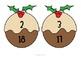 Christmas Pudding Number Bonds Match