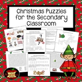 Christmas Puzzles for Grades 4-12