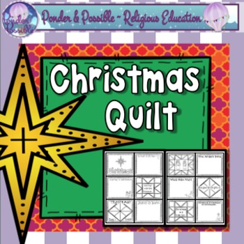 Christmas Nativty Quilt ~ The birth of Jesus