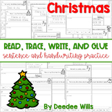 Christmas Read, Trace, Glue, and Draw