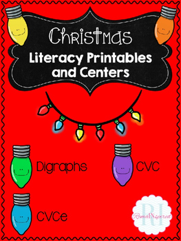 Christmas Reading Printables and Center Activities