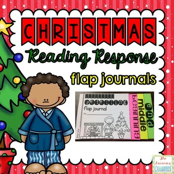 Christmas Reading Response Flap Journals: Story Elements,