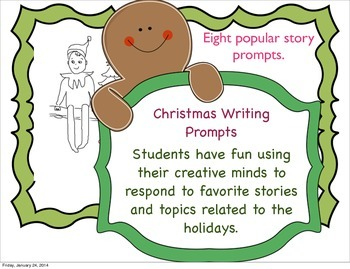 Christmas Reading Response Writing Pack