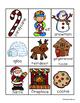 Christmas Reindeer Nouns Sort Practice