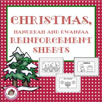 Christmas Reinforcement Sheets