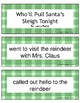 Christmas Retell and Sequence Cards: Who'll Pull Santa's S