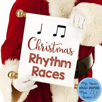 Christmas Rhythm Races Game {Ta and Ti-Ti}