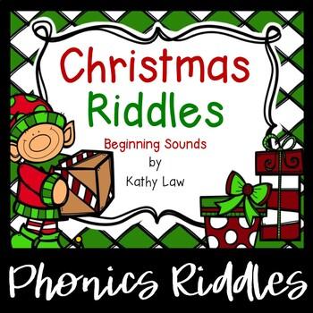 Christmas Riddles -- Beginning Sounds