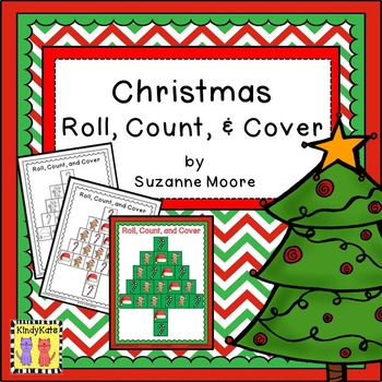 Christmas Roll, Count & Cover! Counting, Games