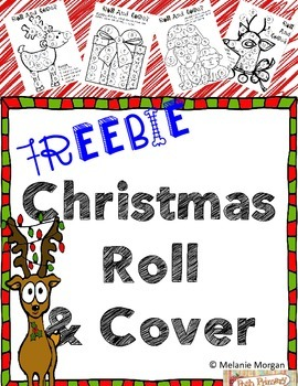 Christmas Roll and Cover FREEBIE