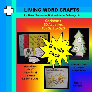 Christmas – SACK'D,  3D Nativity Tree, Name of Jesus for P