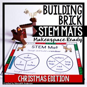 Christmas STEM Center for Building Bricks