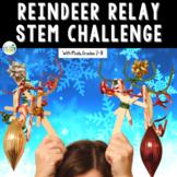 Christmas STEM Design Challenge: Reindeer Relay