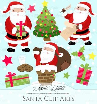 Christmas Santa Clipart and Vectors