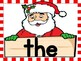 Christmas Santa Dolch Pre-Primer Sight Word Flashcards and