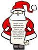 Christmas Santa Writing Craftivity