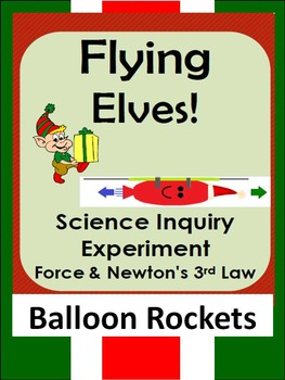 Christmas Science Inquiry STEM force experiment-Newton's 3