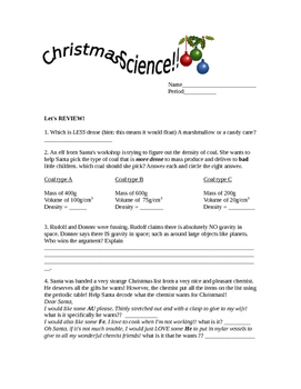 Christmas Science quick review
